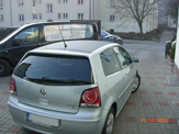 vollverklebung carbon look vw polo bluemotion 01