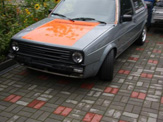 foliendesign vollverklebung vw golf 2 design 04