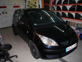 vollverklebung mitsubishi colt schwarz orange weiss oracal 970 01