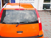 vollverklebung mitsubishi colt schwarz orange weiss oracal 970 08